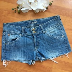Hudson back flap pocket cutoff shorts 31
